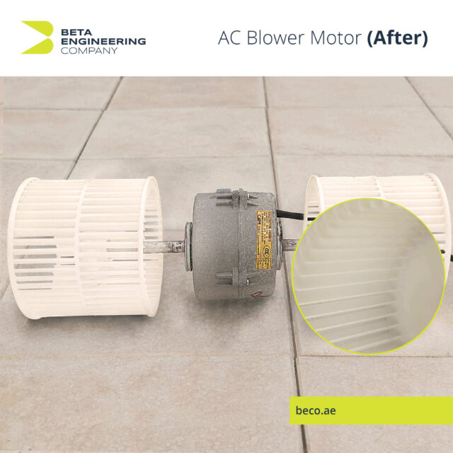 AC Blower Motor After