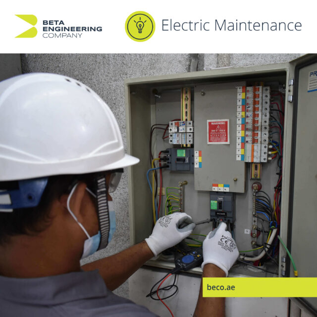 Electric Maintenance for the safety of you and property in Dubai